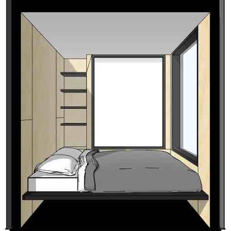 Containerly interior drawings