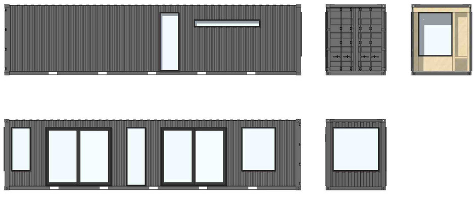 Containerly Construction Drawings