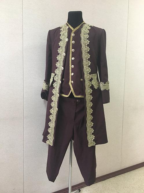 Мужской костюм, конец XVIII в.