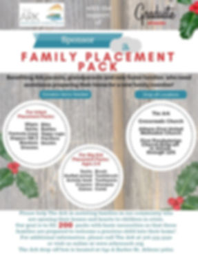 2018 Ark Family Placement Packs no Faith