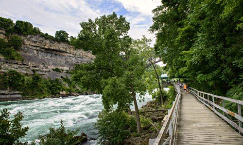 White Water Walk, Niagara falls ֿ