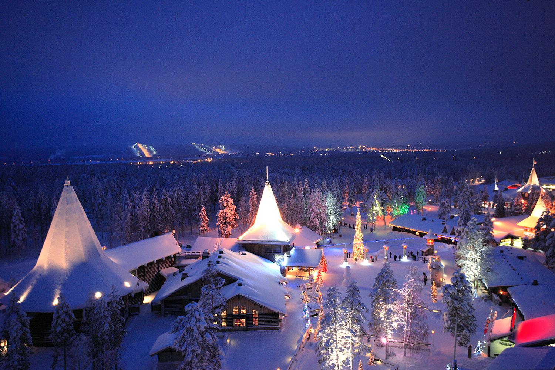 Santa Claus Village מאת מיכל