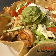 Taco Salad Fajitas Chicken