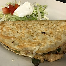 Lunch Quesadilla Fajita Chicken
