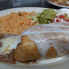Shrimp Chimichanga