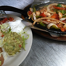 Lunch Chicken Fajitas