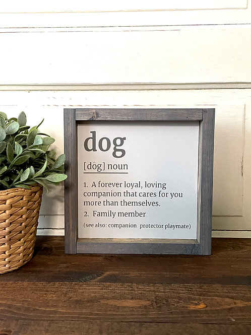 Dog (Noun)