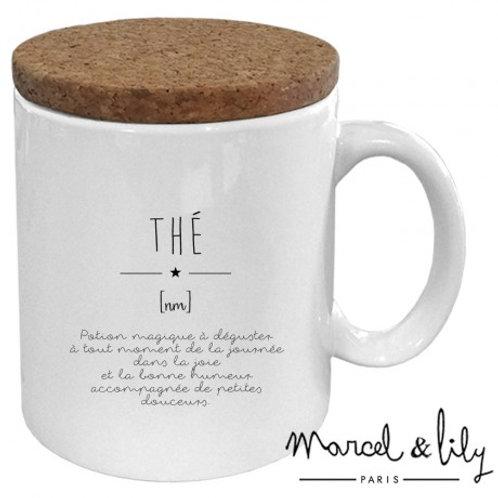 "Mug ""Définition Thé"""