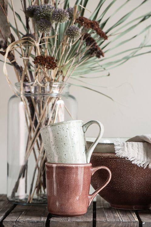 Mug avec poignée Coloris Sienne