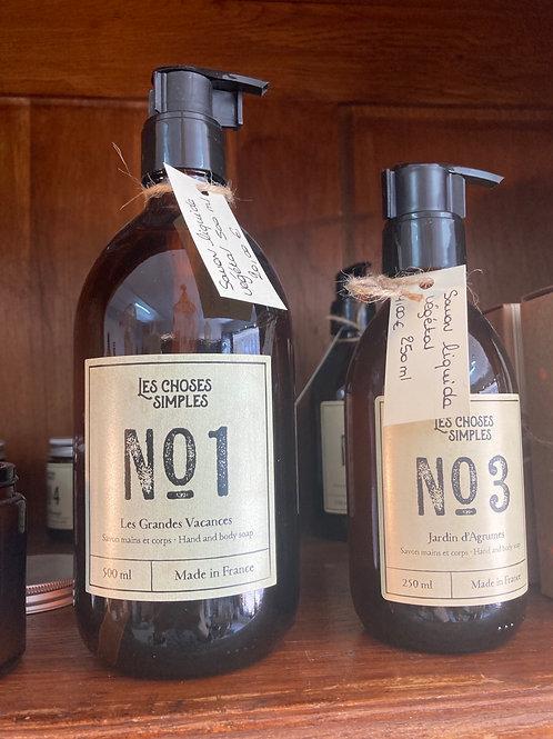 Savon liquide végétal 500 ml «Les choses simples»