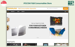 IPSCOM F&B Consumables - Singapore