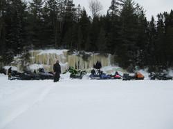Frozen Water Falls