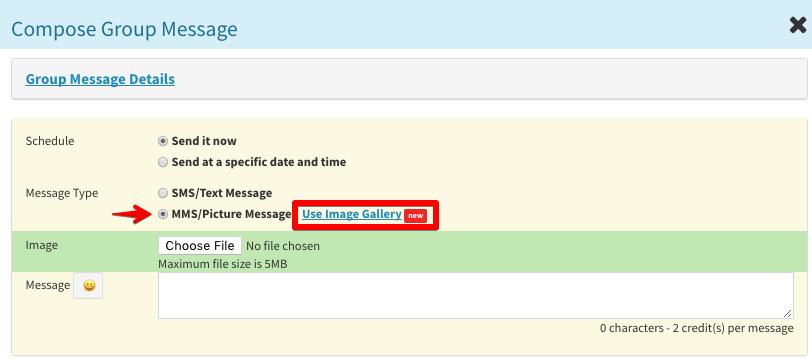 Pony Express dashboard send SMS