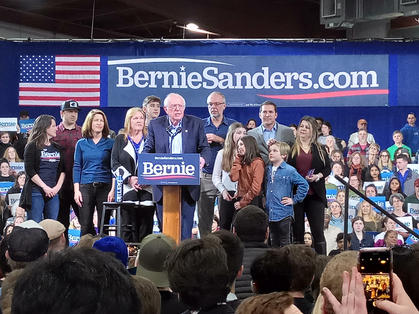 Bernie and Family in Vermont