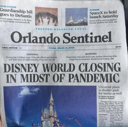 DIsney World Closes