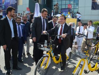 Akıllı Bisiklet Platformu UniBike Malatya İnönü Üniversitesi'nde