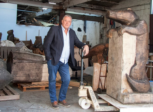 'Put to good use': Sculptor Bruce Armstrong puts his back into painting