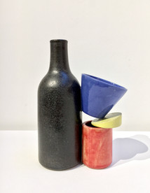 Composition in Blue, Red and Yellow,  2017