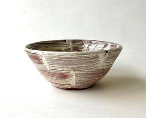 Kohiki Slip on Red Stoneware-Bowl