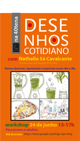 DESENHOS COTIDIANO 40tena