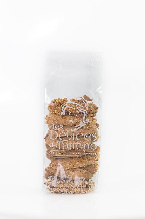 Duchesse au chocolat et noisettes 150gr
