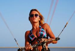 Kitesurfen lernen auf Fehmarn
