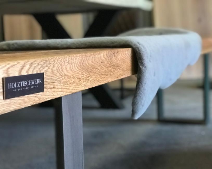 Holztischwerk Sitzbank aus Altholz