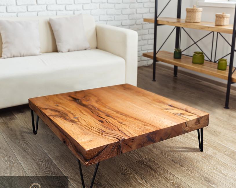 Holztischwerk Couchtisch