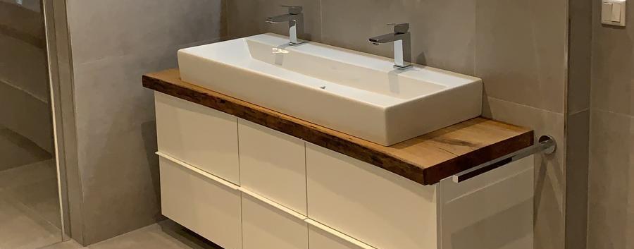 Holztischwerk Waschtisch