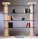 libreria in Pietra Leccese, complementi d'arredo