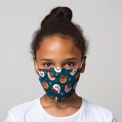 Kids Face Covering - Xmas Cutiemals