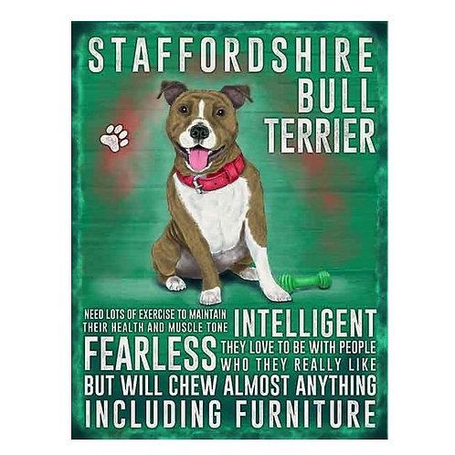 Dog Breed - Staffy