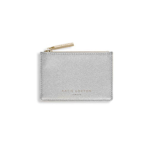 Katie Loxton Card Holder - Silver