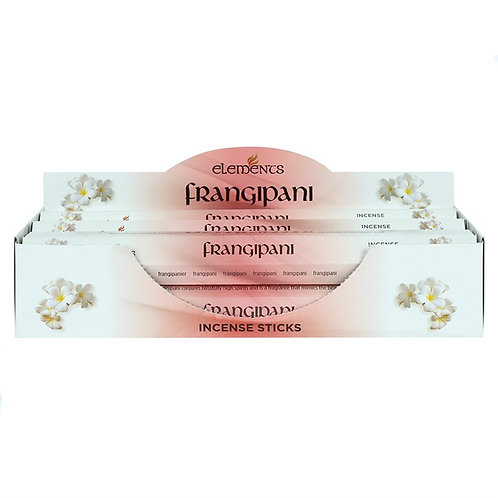 Elements Frangipani Incense - Pack of 6