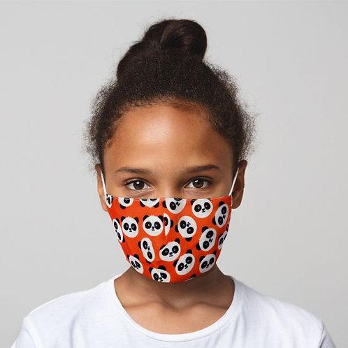Kids Face Covering - Pandas