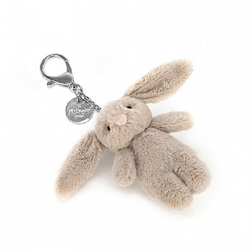 Bashful Bunny Beige Bag Charm