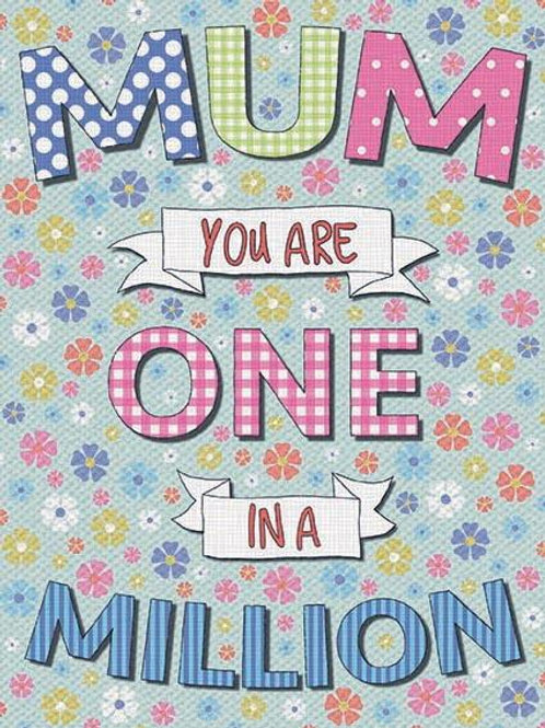 Mum One in a Million Magnet