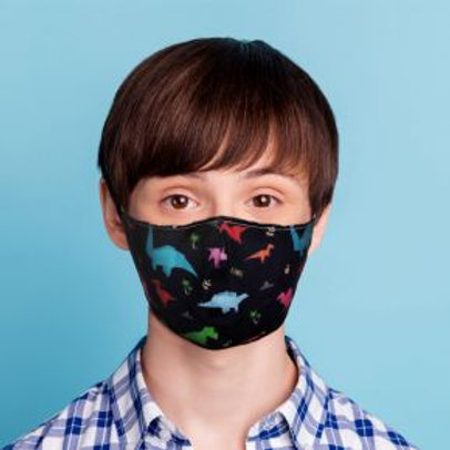 Kids Face Covering - Dinosaurs