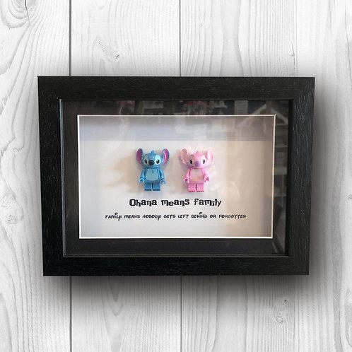 A5 BrickPix Frame Stitch & Angel