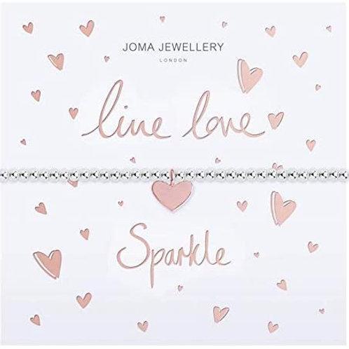 Joma Bracelet - Live, Love, Sparkle Bracelet