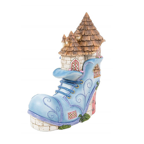 CLICK & COLLECT ONLY ITEM Old Boot Fairy House