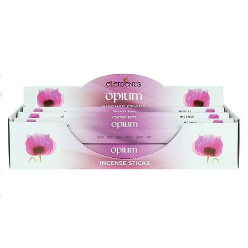 Elements Opium Incense - Pack of 6