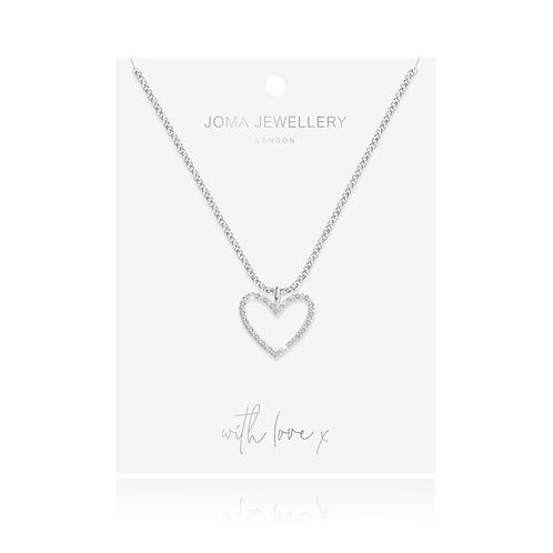 Joma Necklace - Evie Heart