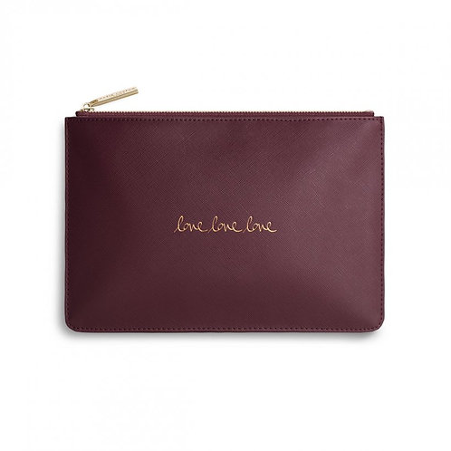 Katie Loxton Bag - Burgundy - Love Love Love