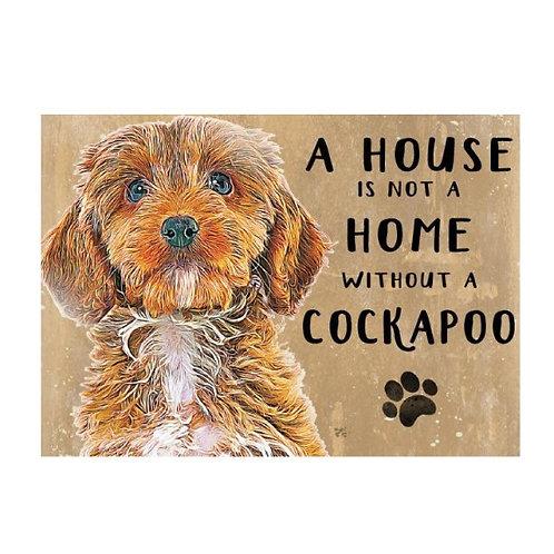 Dog Breed Magnet - Cockapoo