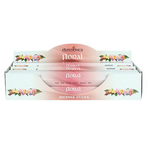 Elements Floral Incense - Pack of 6