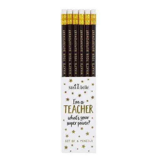 Teacher Pack of Pencils