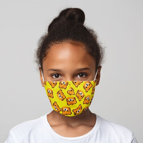 Kids Face Covering - Tigers