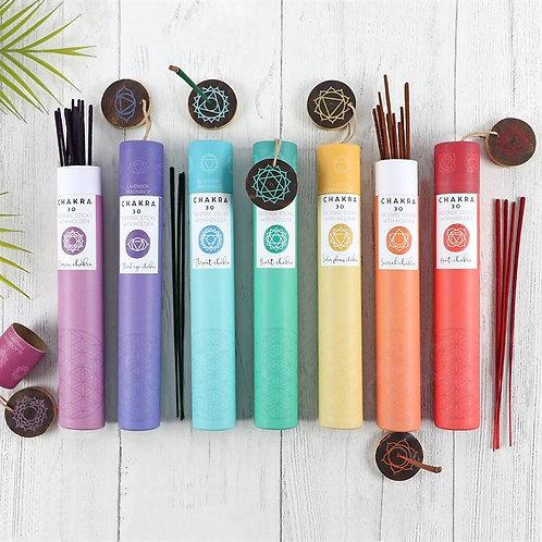 Chakra Incense Sticks