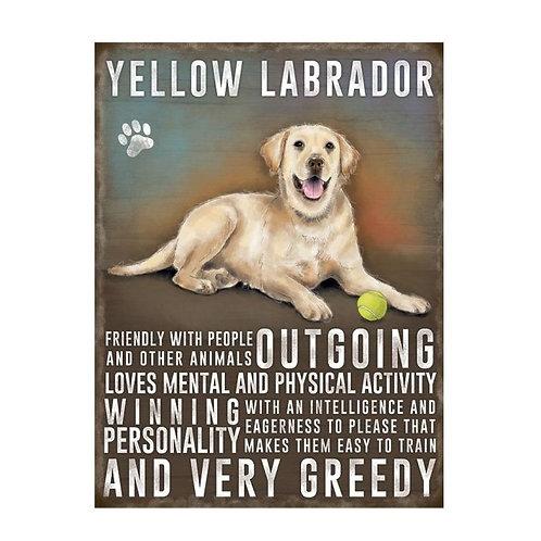 Dog Breed - Yellow Labrador